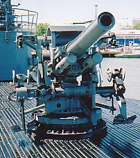 5 inch 25 caliber submarine deck gun